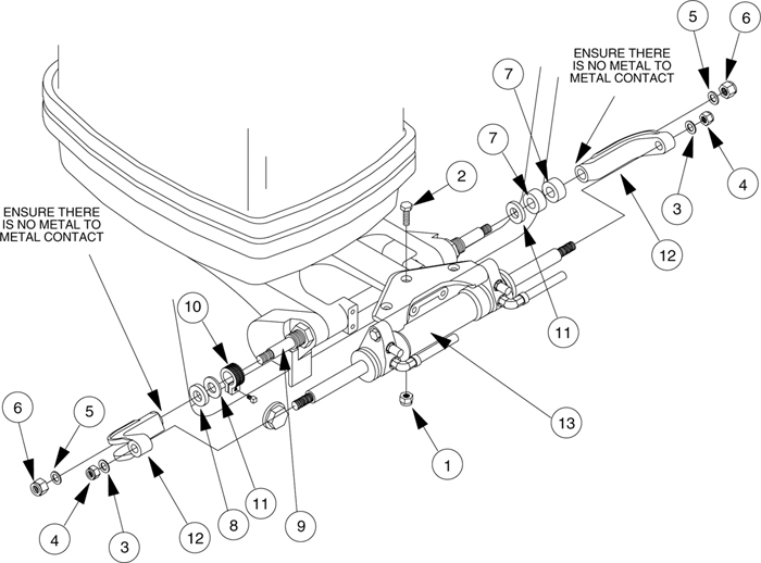 Nut Lb.10 828085 - Seastar Solutions Teleflex Marine Hydraulic for Seastar Hydraulic Steering Parts Diagram