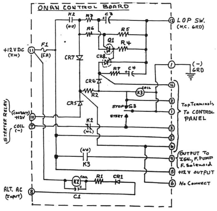 Onan Generator Wiring Diagram Need Schematic Drawing Of Onan 300 within Onan Rv Generator Parts Diagram