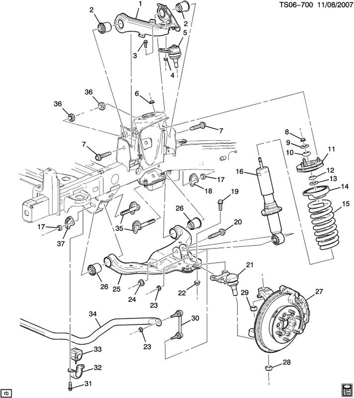 2005 Chevy Silverado Parts Diagram