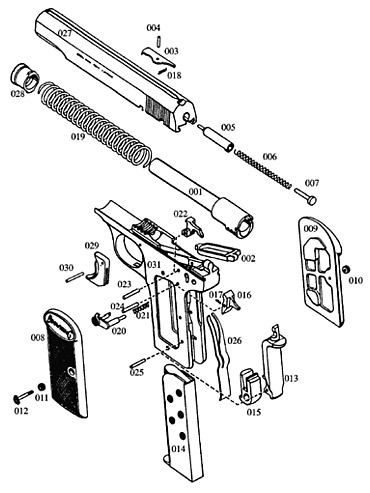 Parts For A Walther Ppk - All Image Wiring Diagram pertaining to Jennings J 22 Parts Diagram