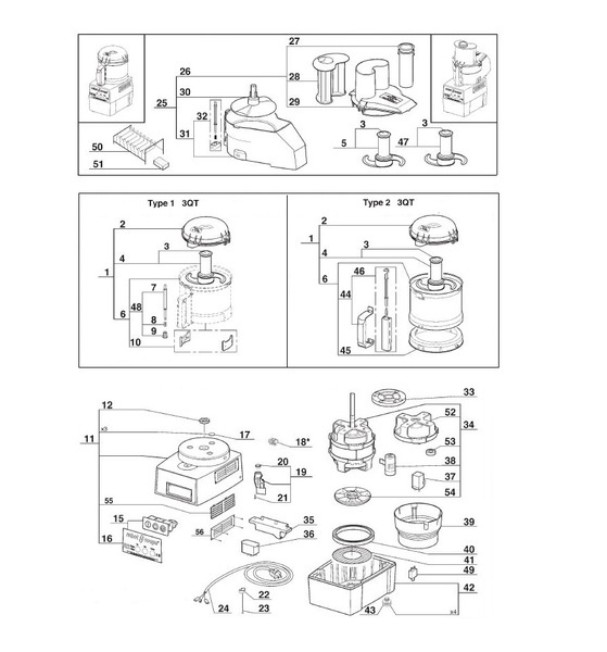 Parts Town – Robot Coupe R2 Ultra Dice Vegetable Prep Machines intended for Robot Coupe R2 Parts Diagram