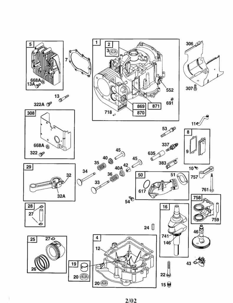 Partsdirect Craftsman Briggs And Stratton Lawn Mower Engine Parts in Craftsman Self Propelled Lawn Mower Parts Diagram