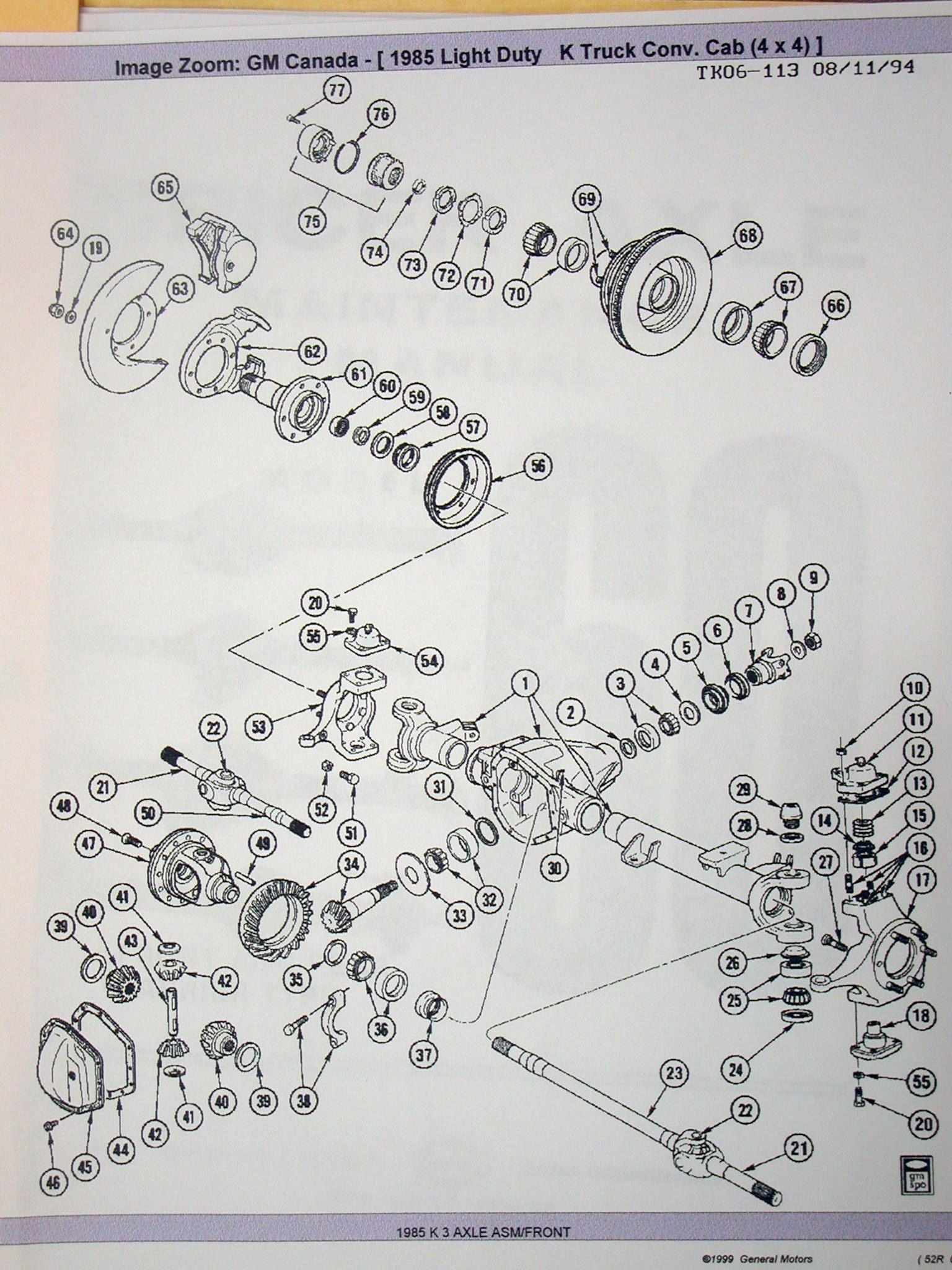 Pirate4X4 - Extreme Four Wheel Drive within Dana 60 Front Axle Parts Diagram