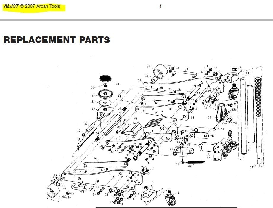 Pittsburgh Floor Jack Parts – Meze Blog for Blackhawk Floor Jack Parts Diagram