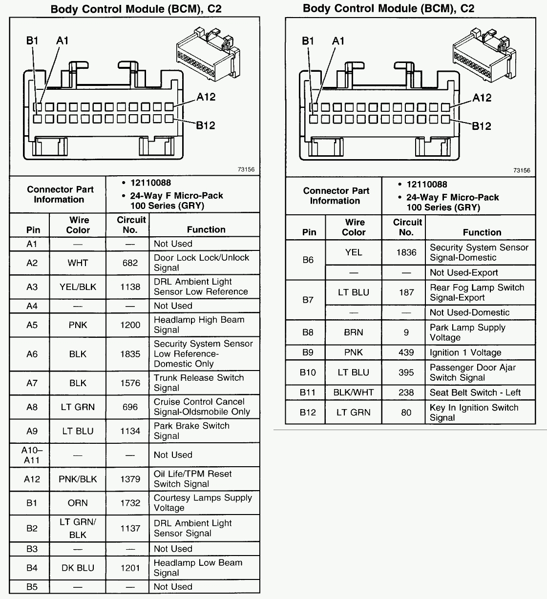 2006 Pontiac Grand Prix Radio Wiring Diagram