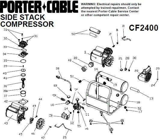 porter cable air compressor parts porter cable compressor parts diagram automotive parts 29306