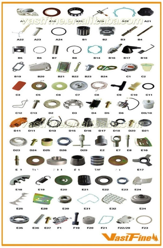 Premium Quality Chain Saw Parts/chainsaw Parts/chainsaw Spares regarding Stihl Ms 390 Parts Diagram