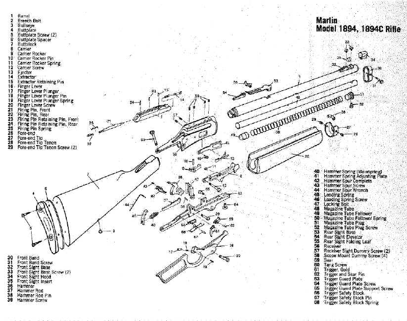 Problem Cycling Marlin - Ruger Forum pertaining to Marlin 30 30 Parts Diagram