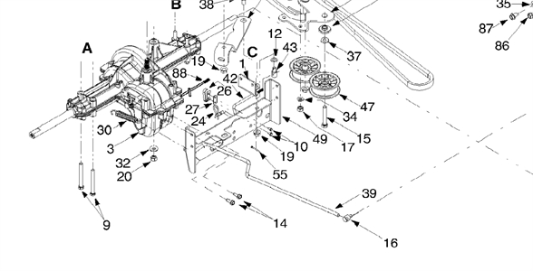 Rear Brakes Stuck On Huskee Riding Mower - Fixya inside Huskee Lawn Tractor Parts Diagram
