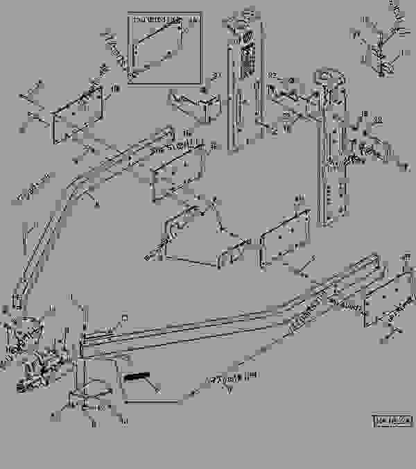 Rear Hitch - Cultivator, Field John Deere 2210 - Cultivator, Field for John Deere 2210 Parts Diagram