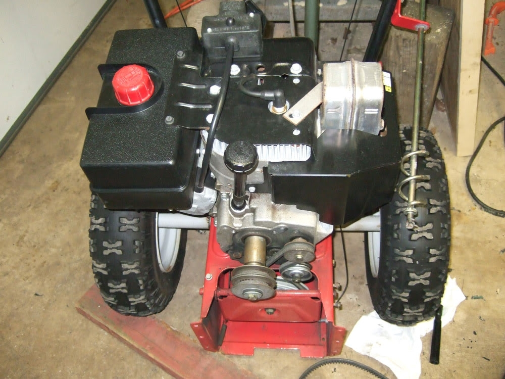 Rebuilding An Mtd Snowblower Auger Differential within Mtd Snow Thrower Parts Diagram