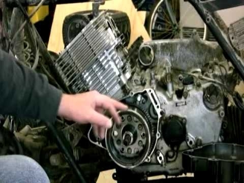 Removing The Fly Wheel On Yamaha Grizzly 600 - Youtube inside Yamaha Grizzly 600 Parts Diagram