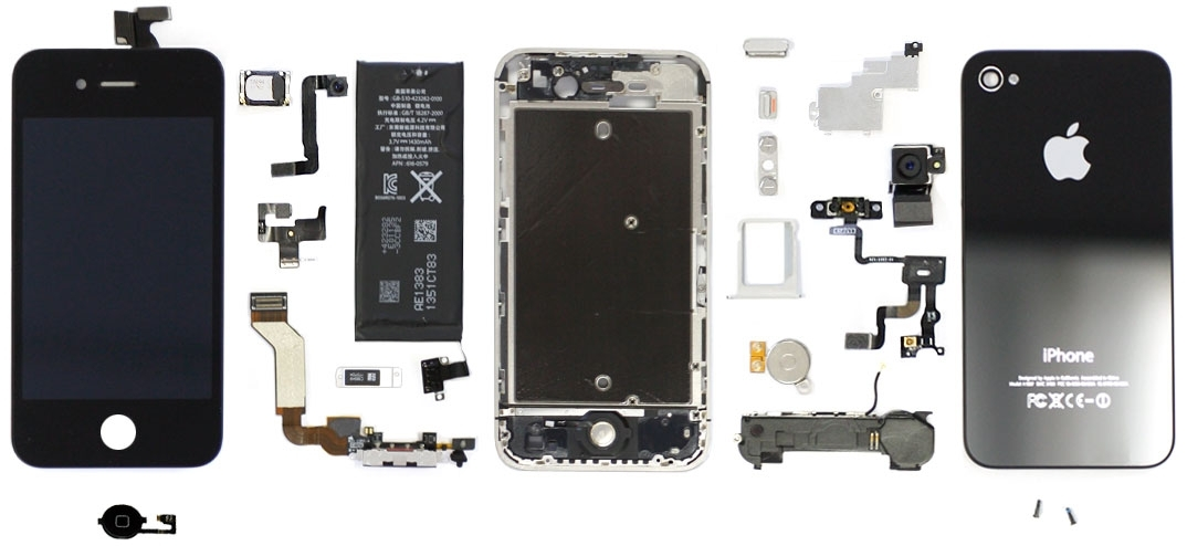 Repair Guides pertaining to Iphone 5 Internal Parts Diagram
