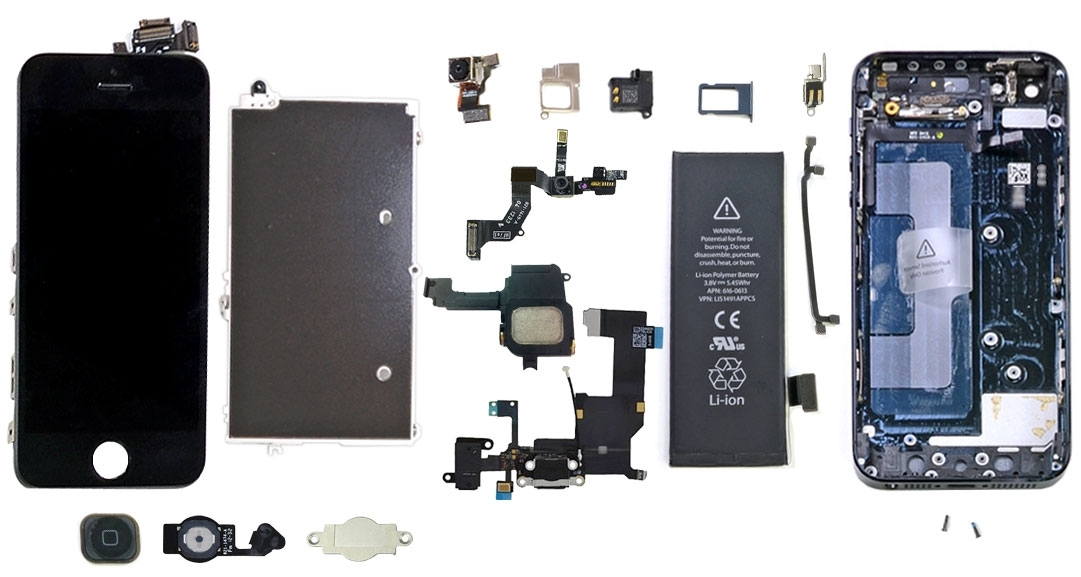 Repair Guides within Iphone 5 Internal Parts Diagram