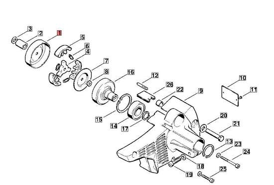 Repair To Stihl Fs 200 Brushcutter. with regard to Stihl Ms 362 Parts Diagram