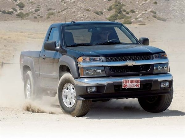 Road Test - 2004 Chevy Colorado - Four Wheeler Magazine within 2004 Chevy Colorado Parts Diagram