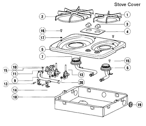 suburban rv furnace parts diagram