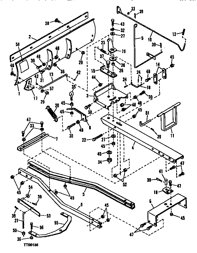 John Deere Sabre Parts Diagram Automotive Parts Diagram