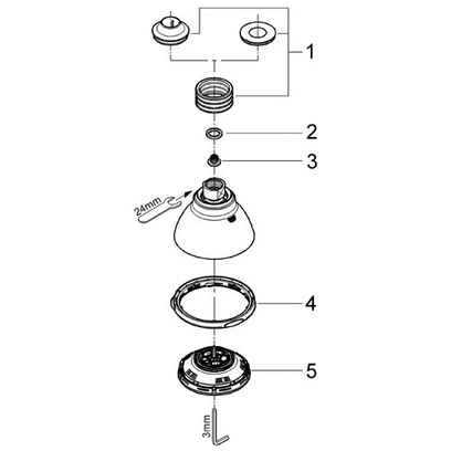 Shower Head Parts Image Gallery - Hcpr in Moen Shower Head Parts Diagram