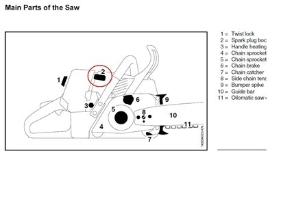 Solved: How Can I Find A Manual For A Stihl O15L Chainsaw? - Fixya within Stihl Ms290 Chainsaw Parts Diagram