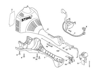 Solved: Replacing The Trottle Trigger On A Stihl Fs 45 - Fixya for Stihl Fs 46 Parts Diagram