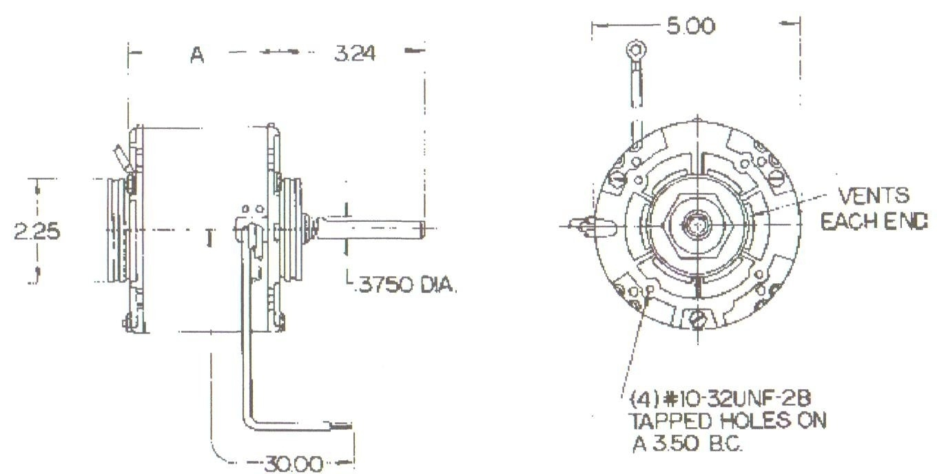 ao smith pool pump motor parts diagram