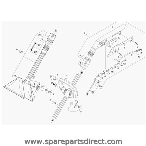 Spare Parts Direct with regard to Karcher Puzzi 100 Parts Diagram