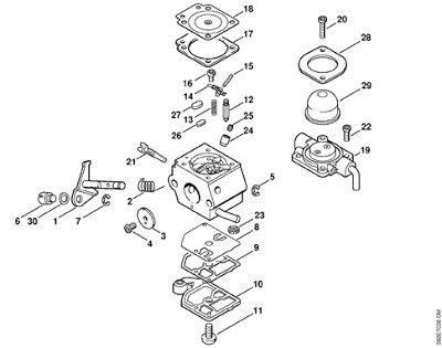 Spare Parts For Machinery Of Garden / Repuestos Para Maquinas De with regard to Stihl Fs 55 Parts Diagram