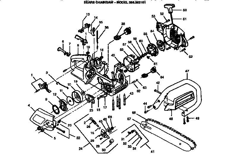 Stihl 011 Av Chainsaw Carburetor Diagram On Stihl Images. Free with Stihl 025 Chainsaw Parts Diagram