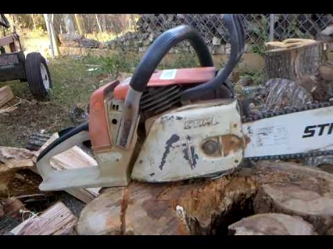 Stihl 024 Av Start And Run - Youtube intended for Stihl 024 Av Parts Diagram