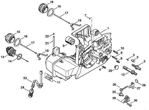 Chainsaw Ignition Coil Wiring Diagram on gm wiring diagrams