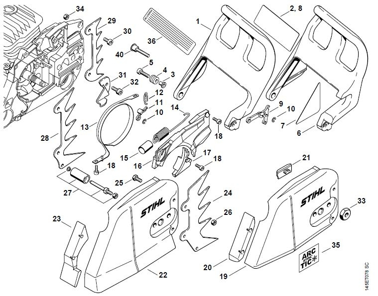 Stihl 290 Parts Diagram | Periodic & Diagrams Science inside Stihl Ms 391 Parts Diagram