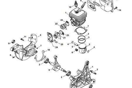 Stihl Chainsaw Parts Diagram Further Stihl Carburetor Parts intended for Stihl Ms 310 Parts Diagram