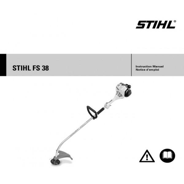 Stihl Fs 38 Weedeater Owners Instructions Manual with regard to Stihl Fs 38 Parts Diagram