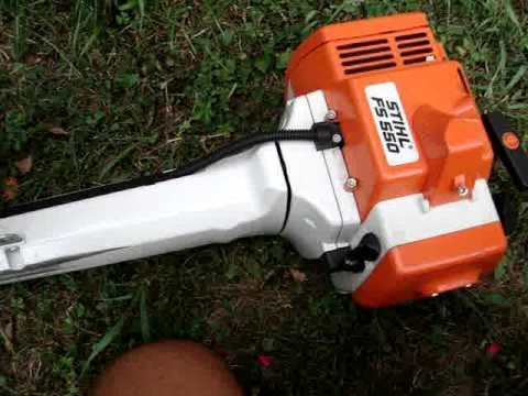 Stihl Fs 550 - Youtube within Stihl Fs 550 Parts Diagram