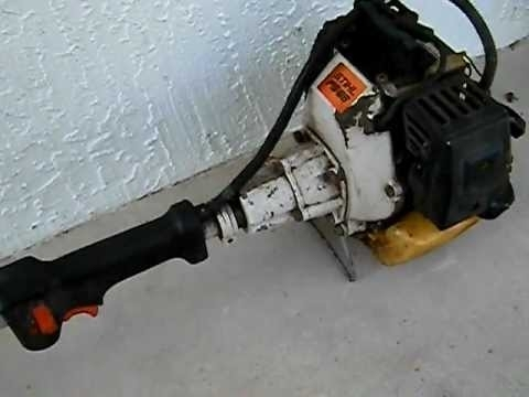 Stihl Fs 86 Weed Eater - Youtube in Stihl Fs 81 Parts Diagram