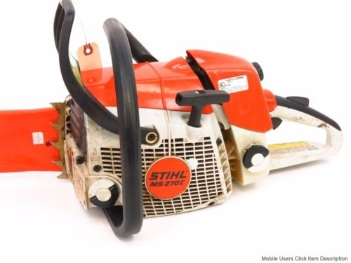 Stihl Ms 270 C Qs Parts List Manual - Chainsaw Workshop Manuals for Stihl Ms 270 Parts Diagram