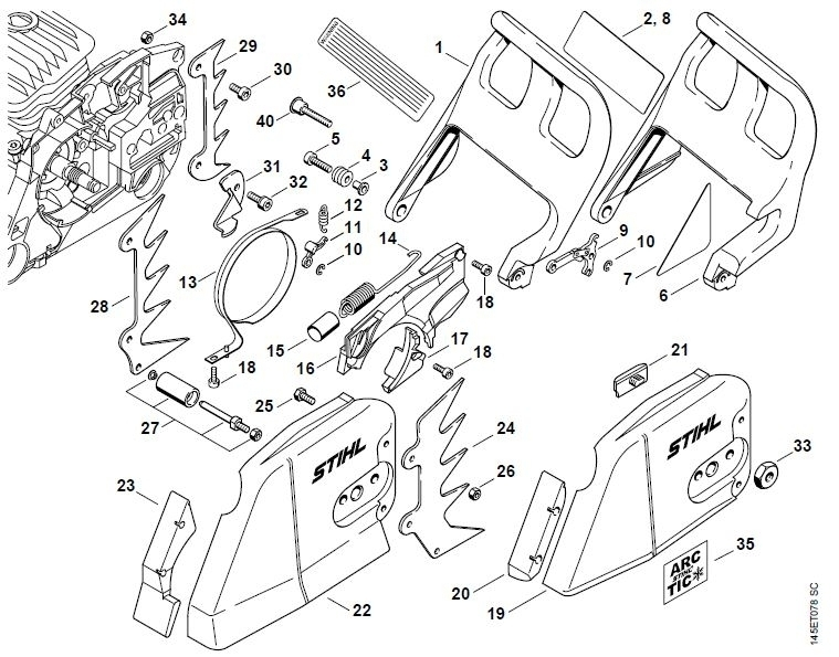 Stihl Parts Diagram | Wiring Diagram And Fuse Box Diagram within Stihl 026 Chainsaw Parts Diagram