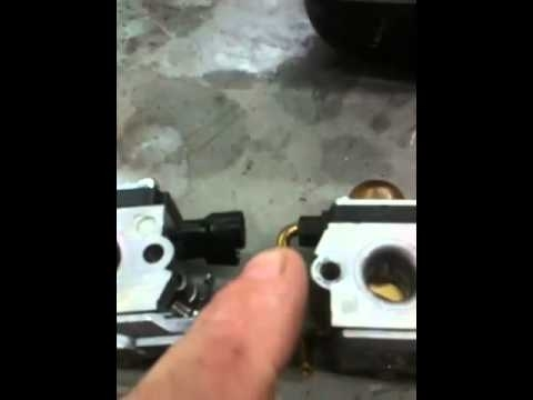 Stihl Trimmer-Weed Eater Repair: Stihl Carburetor Repair regarding Stihl Fs 81 Parts Diagram