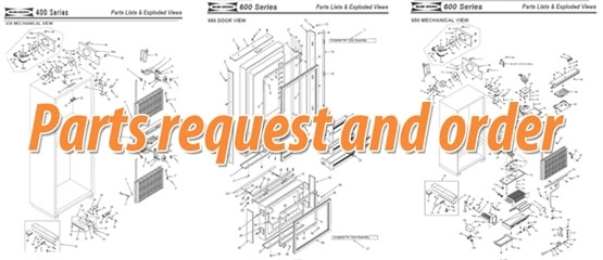Sub Zero And Wolf Parts Request – Sub-Zero Refrigerator Freezer within Sub Zero Refrigerator Parts Diagram