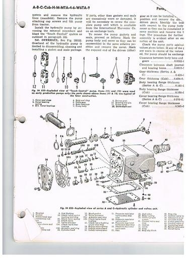 Super A Touch Control Hydraulics - Yesterday's Tractors inside Farmall Super A Parts Diagram