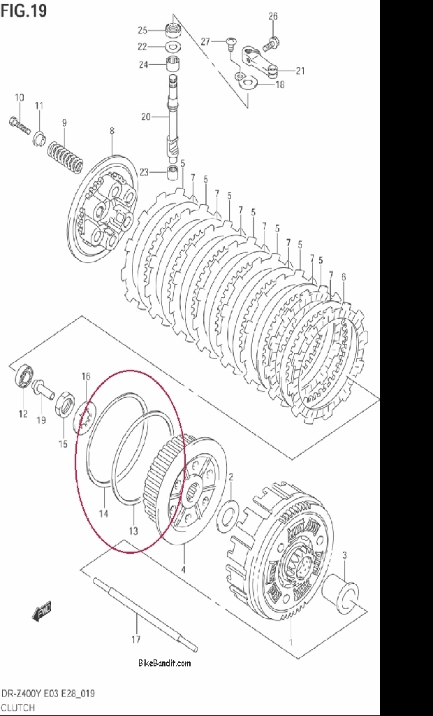 Suzuki Oem Parts - Suzuki Z400 Forum : Z400 Forums regarding Suzuki Ltz 400 Parts Diagram
