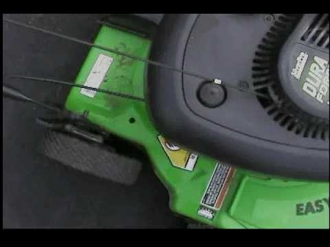 The 1998 Lawn Boy 10323 Dura Force Lawn Mower - Youtube pertaining to Lawn Boy 10323 Parts Diagram