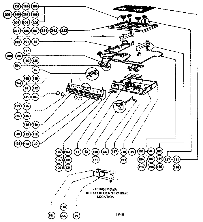 frigidaire electric range parts diagram automotive parts diagram images frigidaire stove wiring diagram frigidaire electric stove wiring diagram