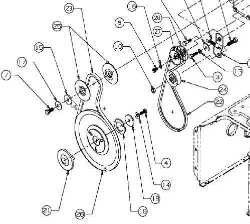 Toro Snowthrower Cr20E throughout Yard Machine Snowblower Parts Diagram