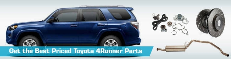 Toyota 4Runner Parts - Partsgeek throughout Toyota 4Runner Body Parts Diagram