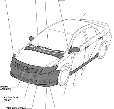 Toyota Corolla 2009 2010 Workshop Service Repair Manual in 2006 Toyota Corolla Parts Diagram