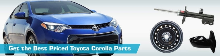 Toyota Corolla Parts - Partsgeek with regard to 2010 Toyota Corolla Parts Diagram