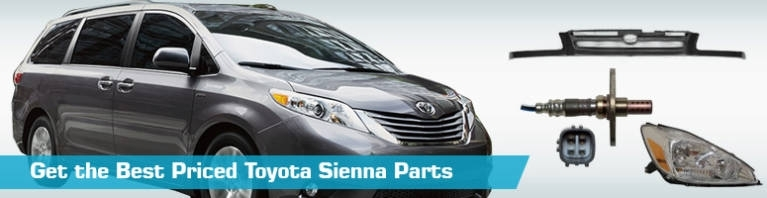 Toyota Sienna Parts - Partsgeek throughout 2006 Toyota Sienna Parts Diagram