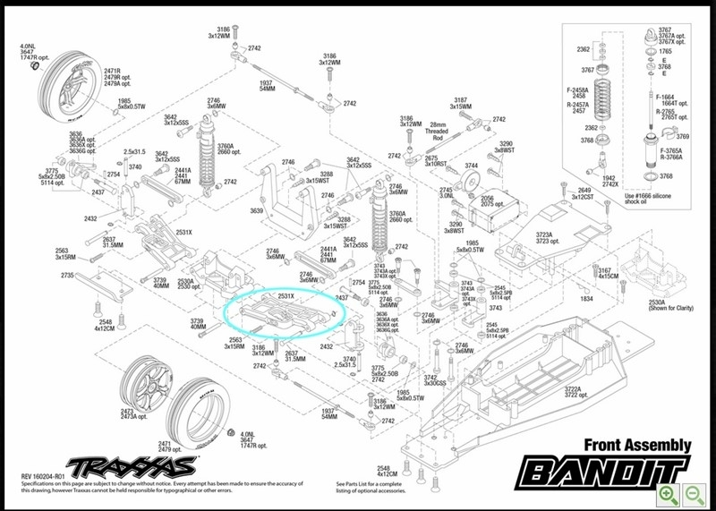 Traxxas: How To Use Spare Parts & Exploded View Sheets | Eurorc for Traxxas T Maxx Parts Diagram